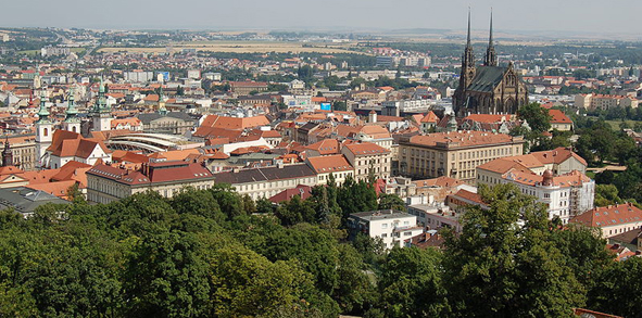 Brno View from Spilberk cNorbert Aepli